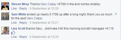 Sky Bet Facebook Comment 2