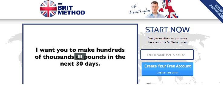 The Brit Method Screenshot