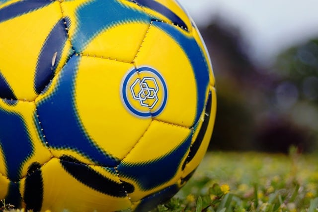 Yellow Football