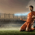 footballer goal celebration