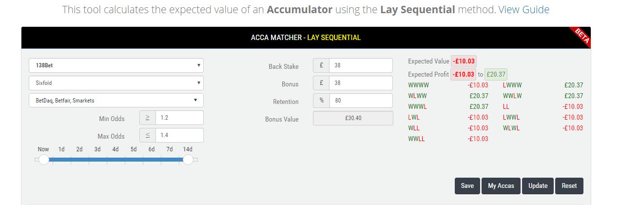 Accu Matcher Screenshot