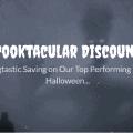 Spooktacular discounts