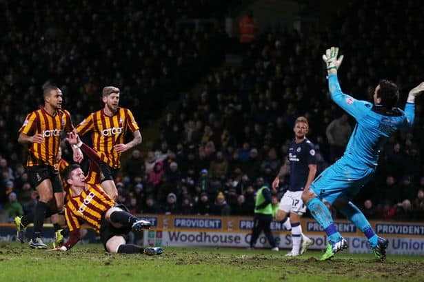 Bradford City v Millwall in League One
