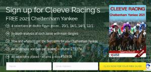 Cleeve Racing Cheltenham 2021