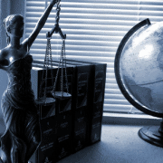 Justice and globe