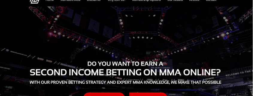 Lucrative MMA Betting pic