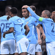 Man City goal celebration