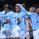 Man City goal celebration