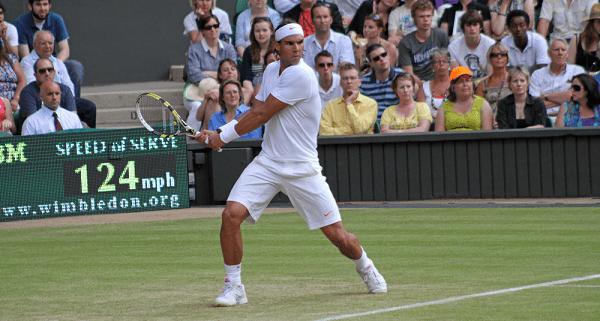 Nadal at Wimbledon