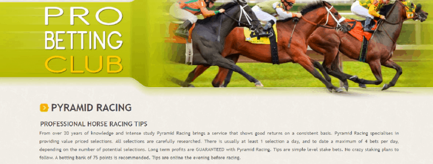 Pyramid racing