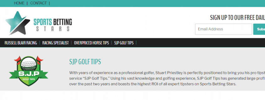 SJP Golf Tips
