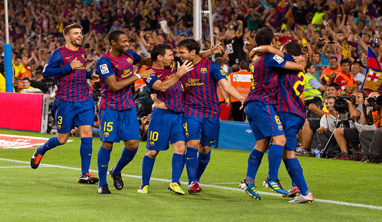 Barcelona FC Celebration