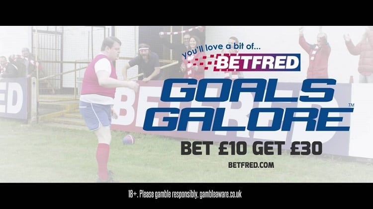 Betfred's Goals Galore Coupon