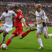bundesliga players battling it out