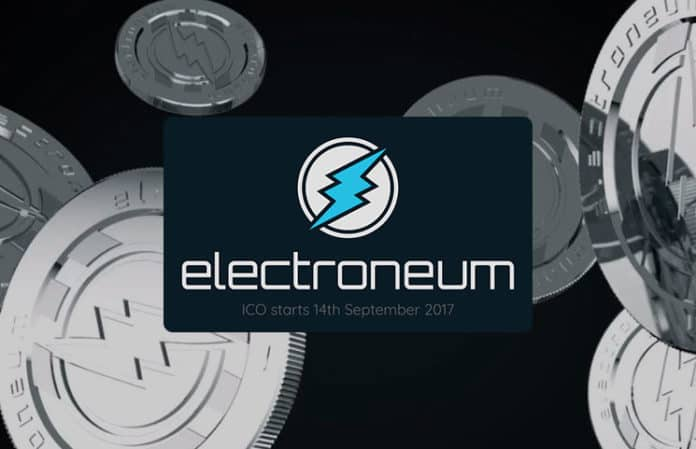 Electroneum Mobile Cryptocurrency