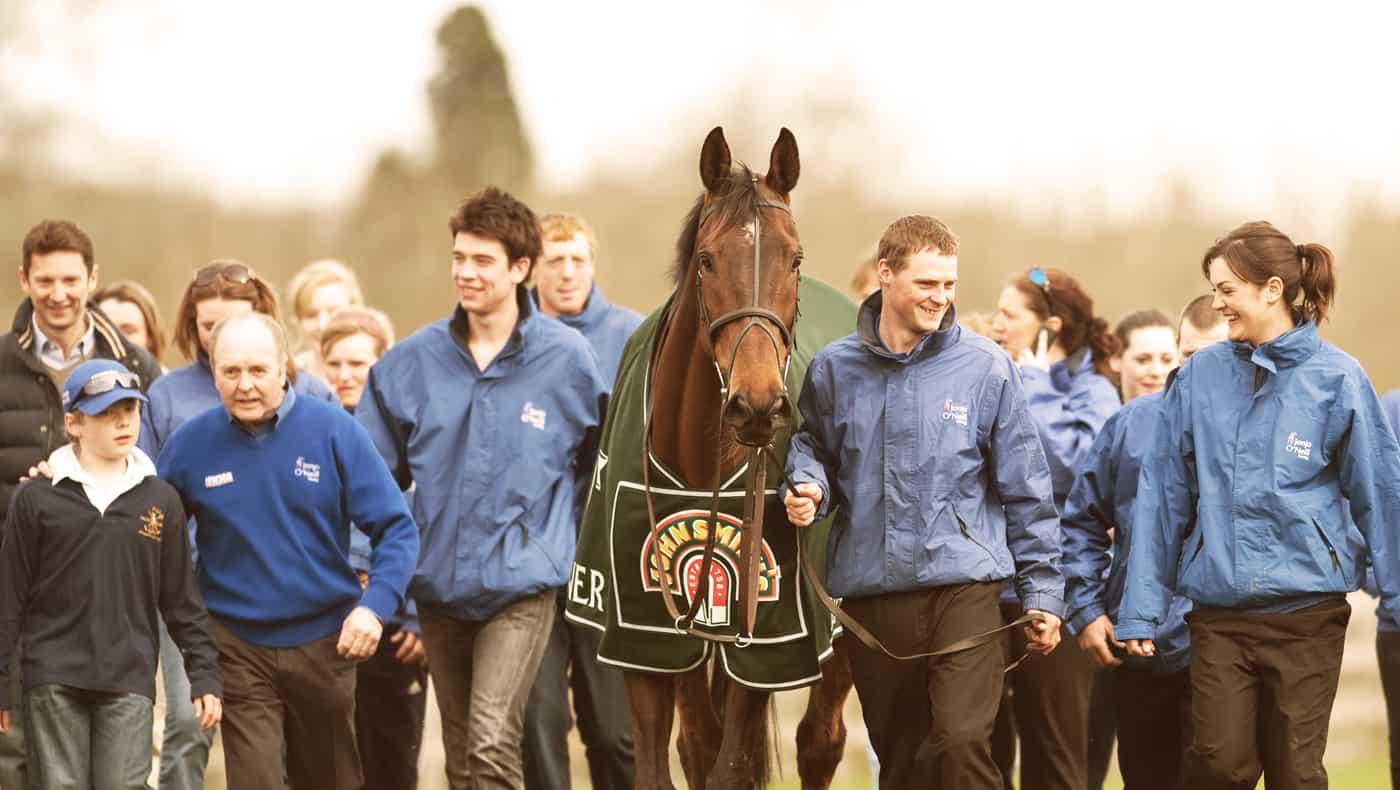 Preparing for Horse Race