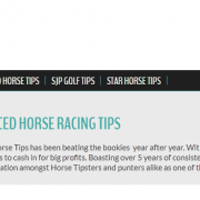 overpriced horse tips