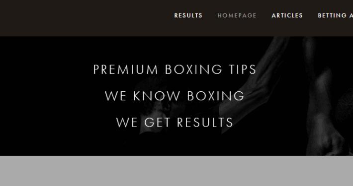 premium boxing tips
