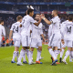 real madrid celebrating goal