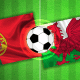 wales v port flag pic