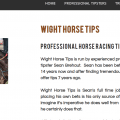 wight horse tips